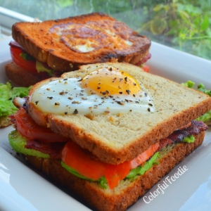 Croque Madame with a Twist